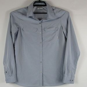 Columbia Omni Shade Vented long sleeve button up S